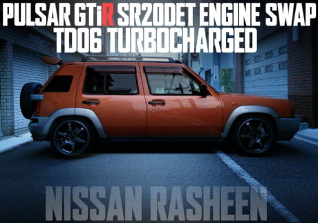 GTIR SR20DET SWAP RASHEEN
