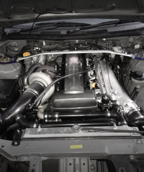 2JZ-GTE ENGINE SILGLE TURBOCHARGER