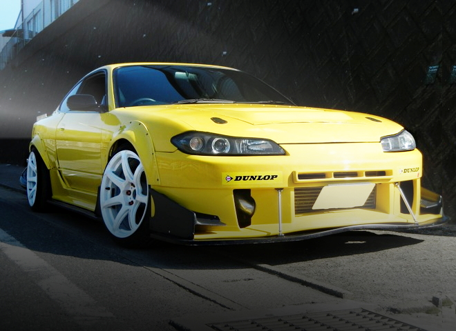 FRONT FACE S15 SILVIA YELLOW
