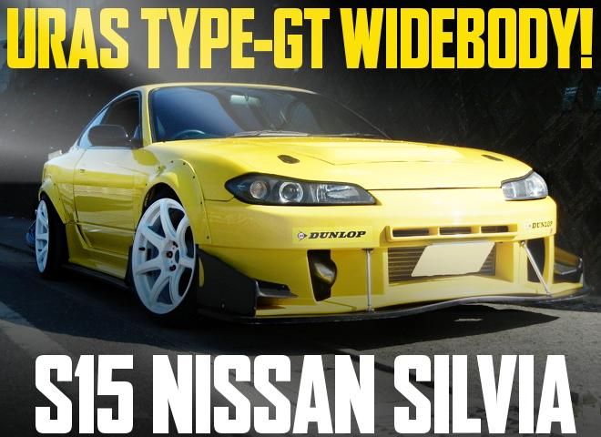 URAS GT WIDE S15 SILVIA