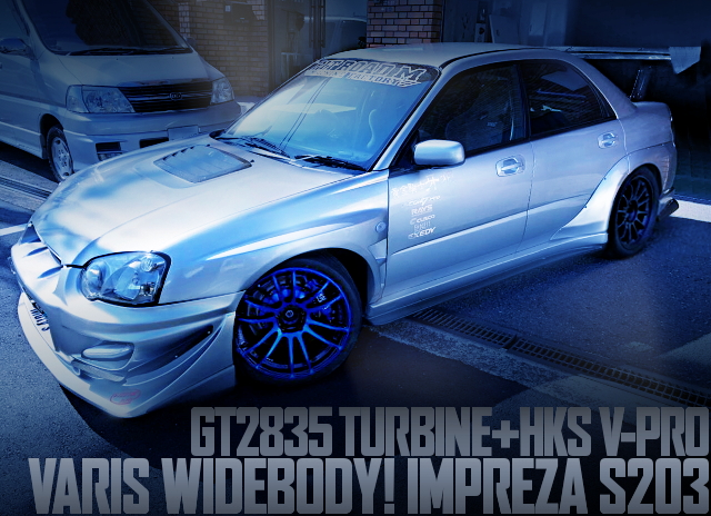 VARIS WIDEBODY IMPREZA S203