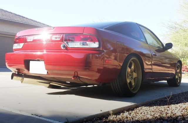 BACK TAIL LAMP S13 240SX RED