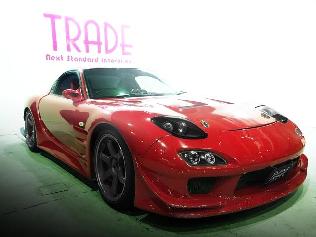 FRONT FACE FD3S RX-7 RED