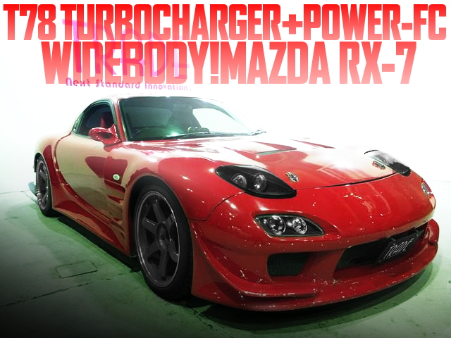 T78 TURBO WIDEBODY FD3S RX-7