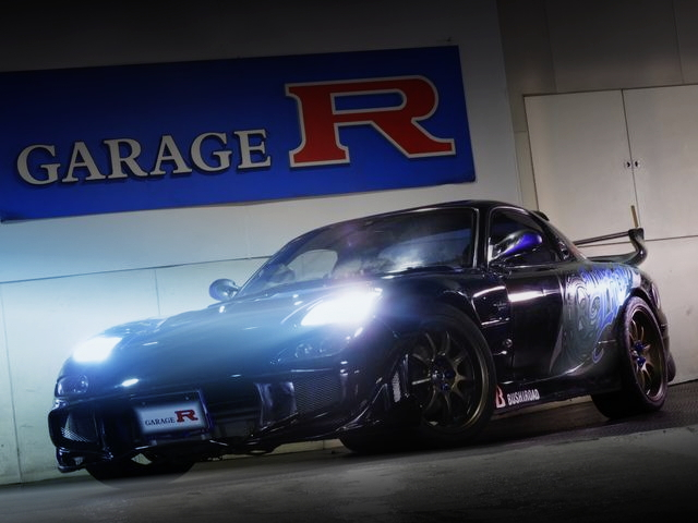 FRONT HID LIGHT OF FD3S RX-7