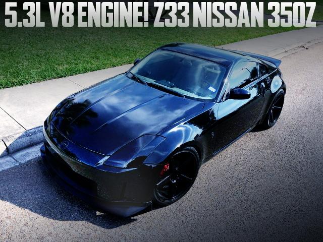 LS 5300cc V8 ENGINE Z33 NISSAN 350Z
