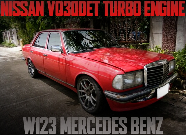 VQ30DET ENGINE SWAP W123 BENZ