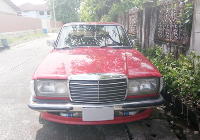 FRONT FACE W123 MERCEDES BENZ