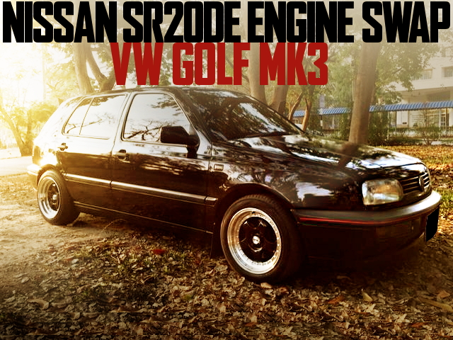 VW GOLF MK3 SR20DE ENGINE