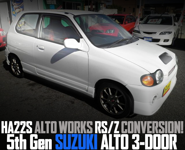 HA22S WORKS RSZ CONVERSION 5TH GEN ALTO 3-DOOR