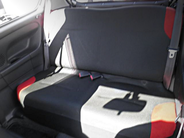 REAR SEAT ALTO WORKS SWAP
