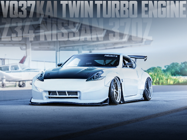 VQ37 TWIN TURBO Z34 NISSAN 370Z