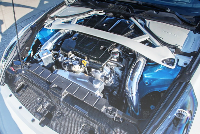 VQ37 TWIN TURBO ENGINE OF Z34 370Z
