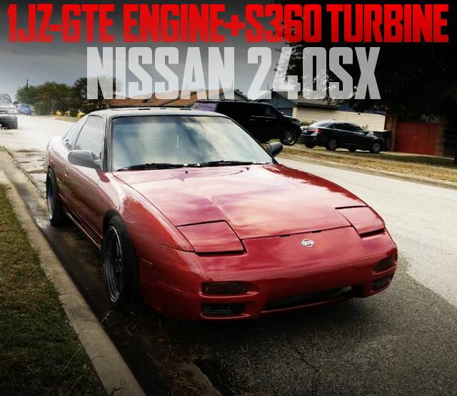1JZ-GTE S360 TURBINE S13 240SX