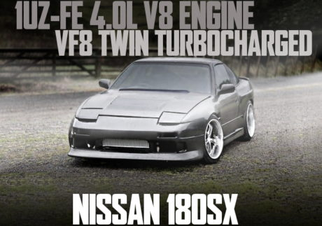1UZ V8 TWIN TURBO NISSAN 180SX