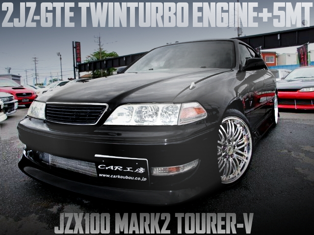2JZ-GTE SWAP JZX100 MARK2