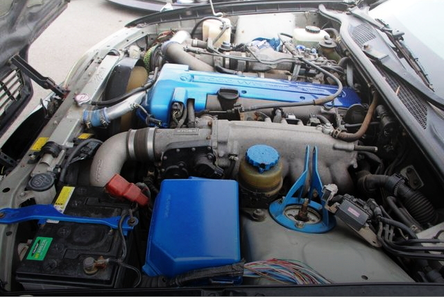 2JZ-GTE 300cc TWIN TURBO ENGINE