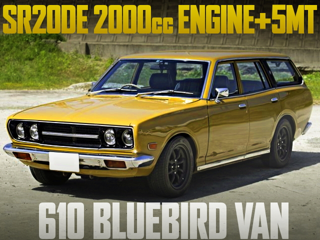 SR20DE ENGINE V610 BLUEBIRD VAN