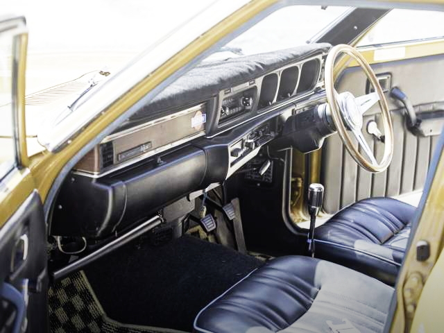INTERIOR V610 BLUEBIRD VAN