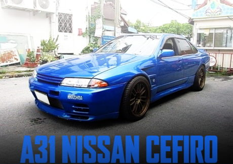 A31 CEFIRO R32 GT-R BODY CUSTOM