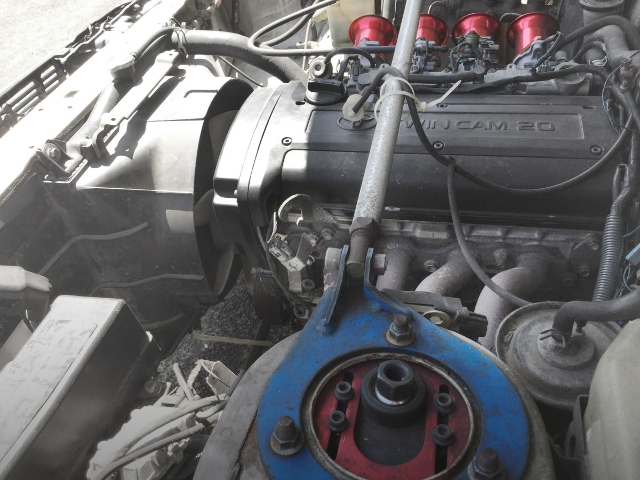 EXHAUST MANIFOLD FOR 4A-GE