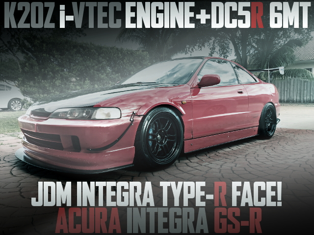 K20Z iVTEC SWAP AND TYPE-R FACE ACURA INTEGRA GSR