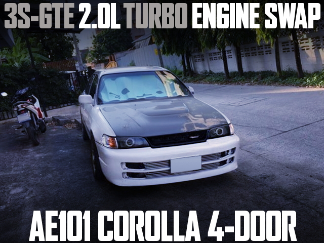 3S-GTE TURBO AE101 COROLLA 4-DOOR