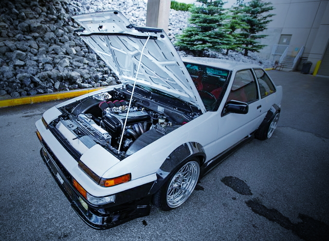 CYCLE FENDER AE86