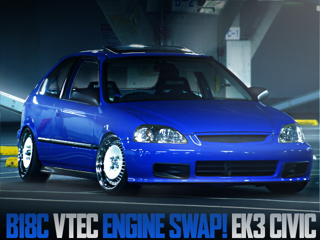 B18C VTEC SWAP USDM CUSTOM EK3 CIVIC
