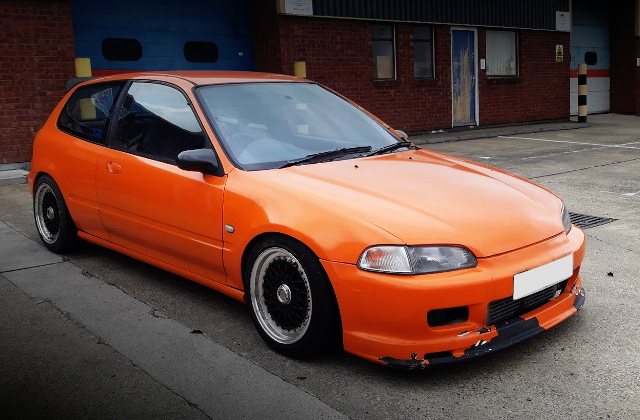 FRONT EG CIVIC ORANGE