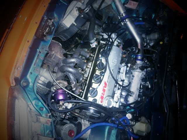 D16Z VTEC ENGINE WITH TURBO