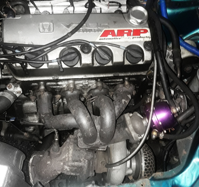 D16Z VTEC WASTEGATE TURBO ENGINE