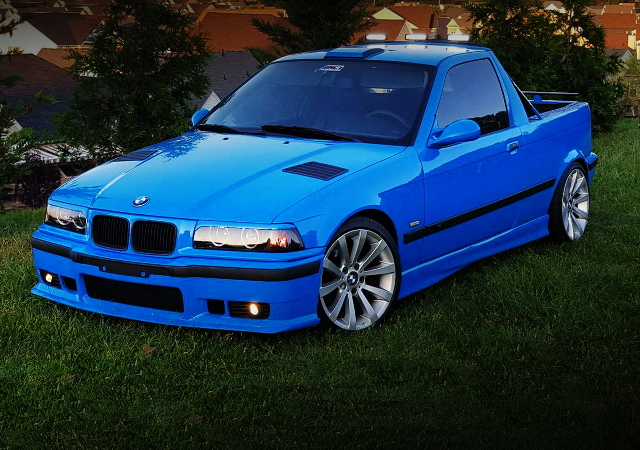 FRONT FACE E36 BMW Ti BLUE