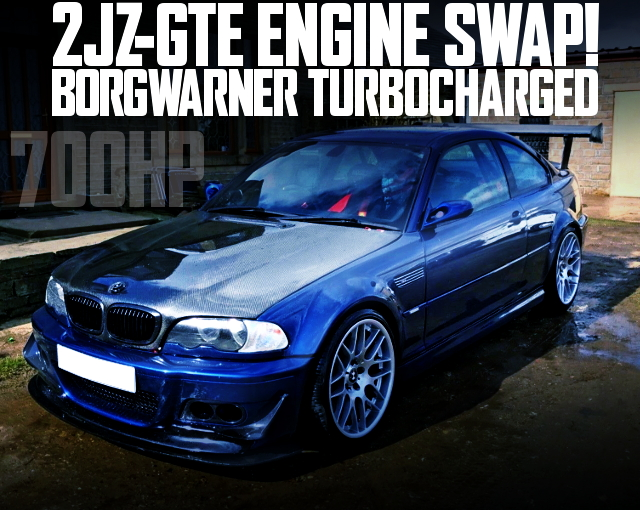 2JZ-GTE ENGINE SINGLE TURBO E46 BMW M3 COUPE