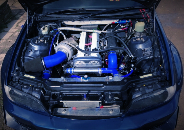 2JZ-GTE ENGINE WITH BORGWARNER TURBO