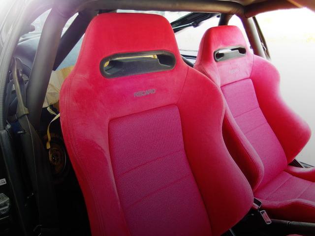 RECARO SEATS FROM EF8 CR-X SiR INTERIOR