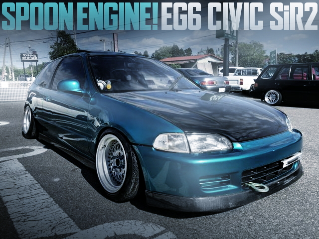 SPOON ENGINE STANCE EG6 CIVIC