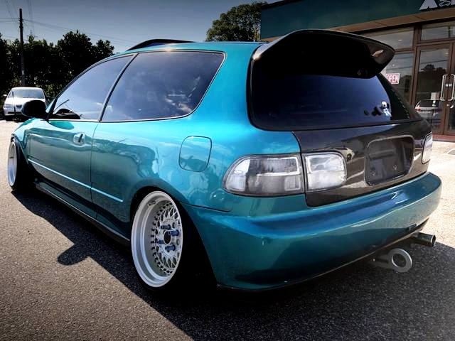 REAR EXTERIOR EG6 CIVIC SIR