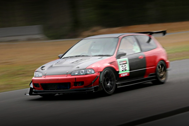 RACE TRACK EG6 CIVIC HATCH