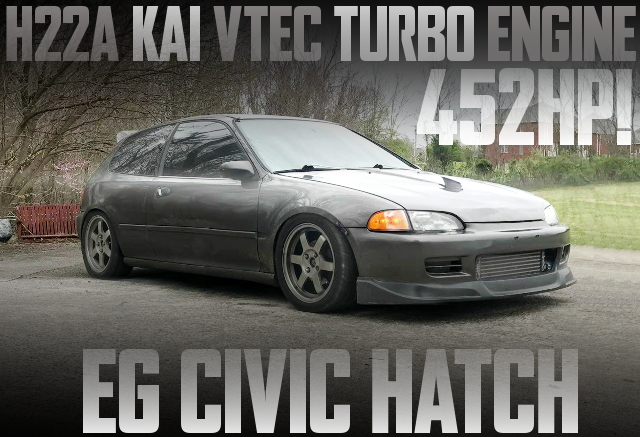 H22A VTEC TURBO ENGINE EG CIVIC