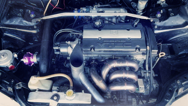 H22A VTEC ENGINE WITH COMPTURBO