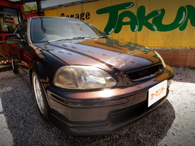FRONT FACE EK4 CIVIC HATCH