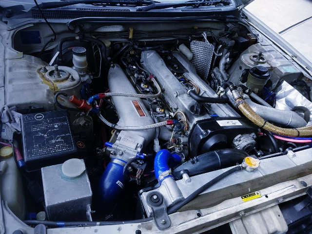 RB25 TURBO ENGINE