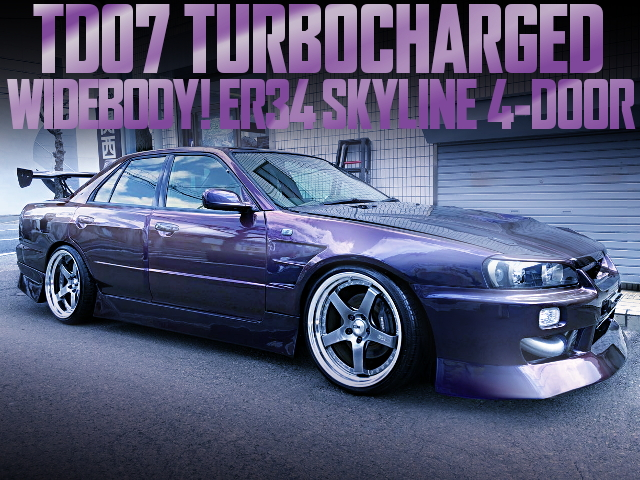 TD07 WIDEBODY ER34 SKYLINE 4-DOOR