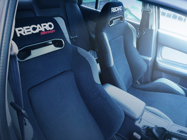 RECARO SEATS ER34 SKYLINE 4-DOOR