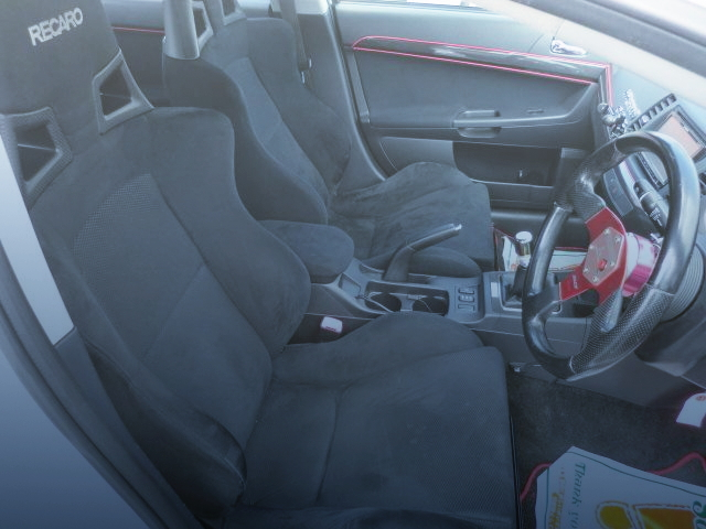 BUCKET SEATS OF EVO10 GSR