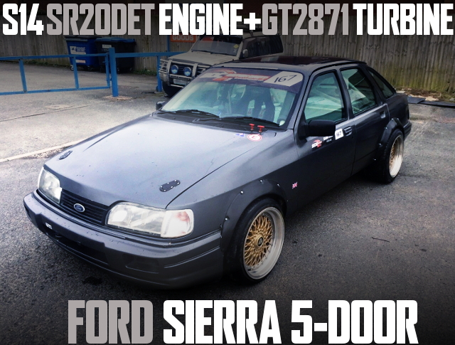 SR20DET TURBO ENGINE FORD SIERRA