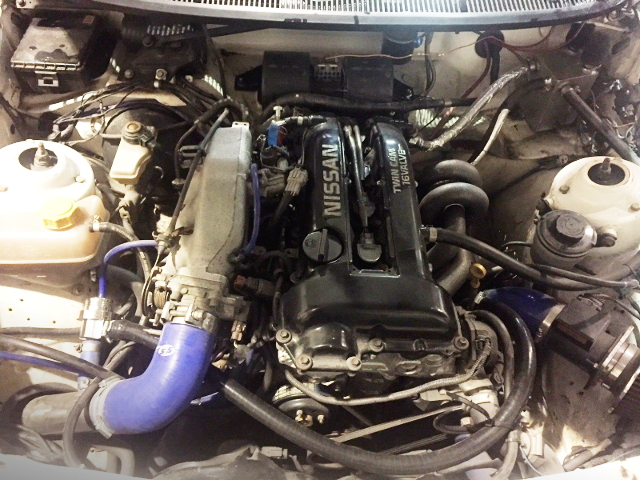 BLACK TOP SR20 TURBO ENGINE