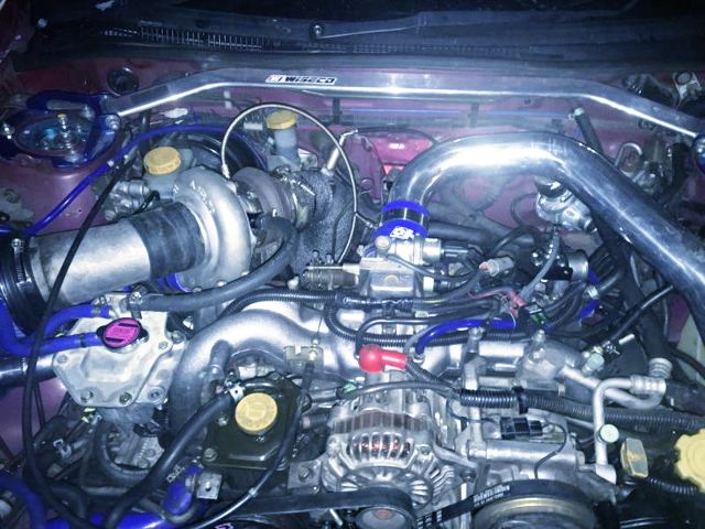 EJ207 BOXER ENGINE WITH GT3076R TURBOCHARGER