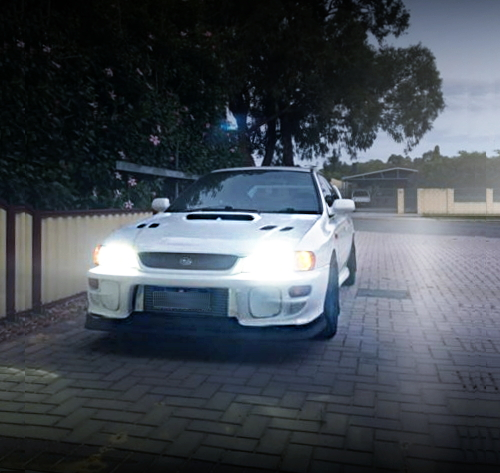 FRONT FACE GC8 WRX 4-DOOR